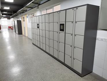 湖北某职业学院打造智慧办学引进宇联智能人脸识别智能书包柜