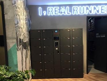 某运动鞋厂家武汉区采购宇联智能人脸识别智能柜项目